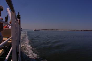 Mit der Fähre gehts auf die Insel Föhr
