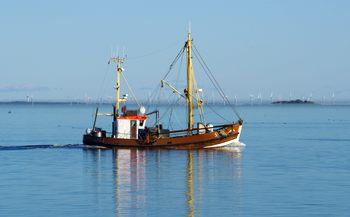 Krabbenfischer am Hafen von Wyk
